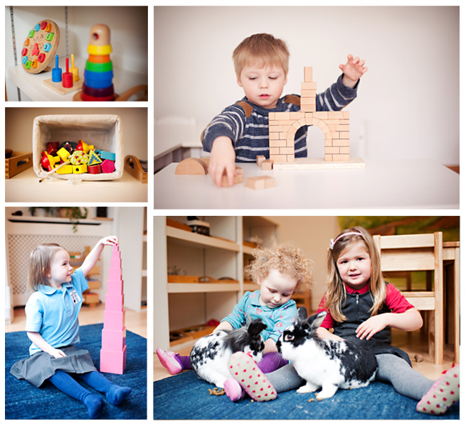 The Childrens Room Nursery Collage