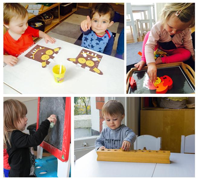 The Childrens Room Pre Nursery Collage copy