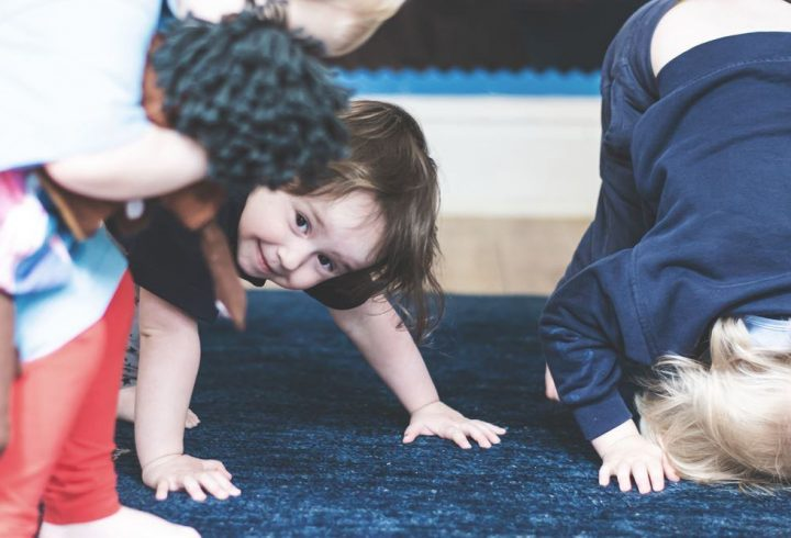 Yoga at the Children Rooms